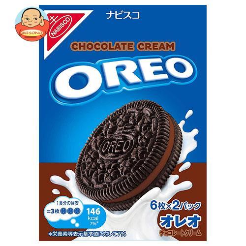 モンデリーズ・ジャパン オレオ チョコレートクリーム 116g(6枚×2パック)×12箱入