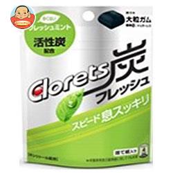モンデリーズ・ジャパン クロレッツ 炭フレッシュパウチ(粒ガム) 9粒×6袋入