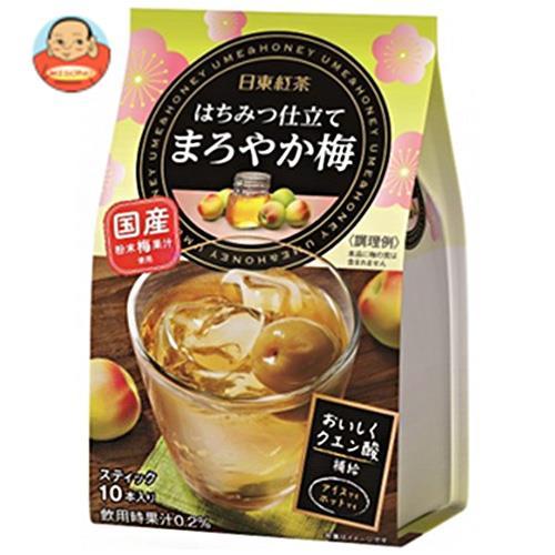 三井農林 日東紅茶 はちみつ仕立て まろやか梅 9.8g×10本×24個入