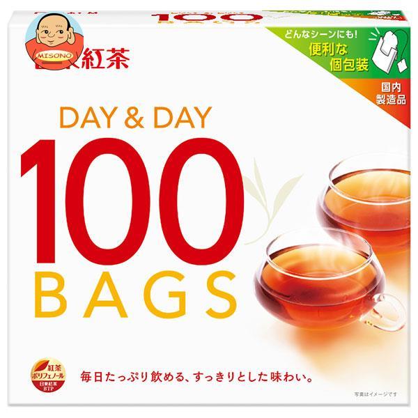三井農林 日東紅茶 DAY&DAY(デイ&デイ) (1.8g×100袋)×24個入