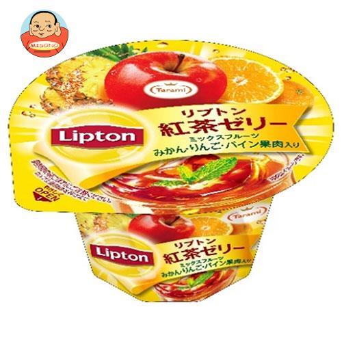 たらみ リプトン紅茶ゼリー ミックスフルーツ 230g×24(6×4)個入