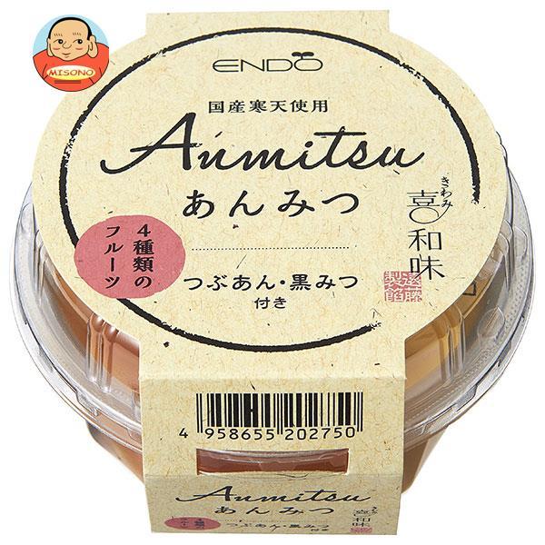 遠藤製餡 喜和味 あんみつ 250g×24個入