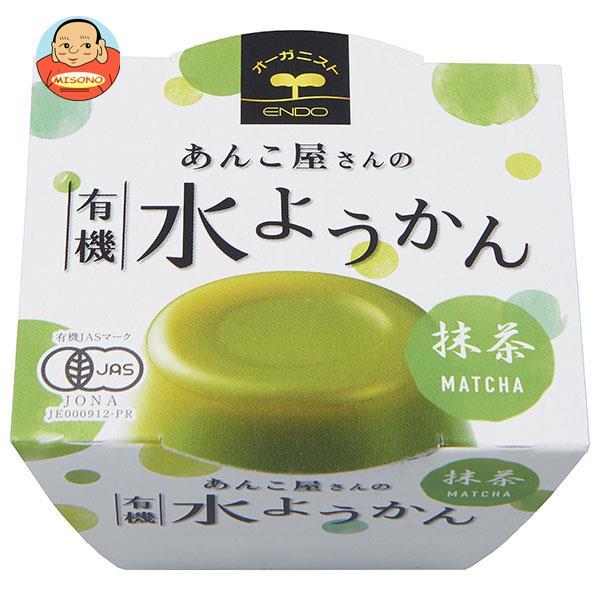 遠藤製餡 あんこ屋さんの有機水ようかん 抹茶 100g×24個入