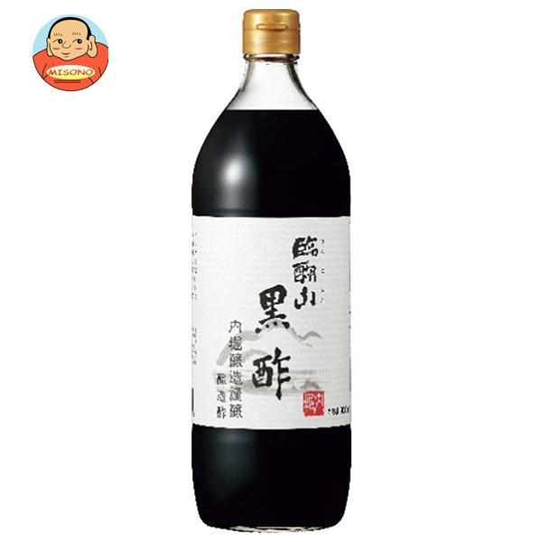 内堀醸造 臨醐山 黒酢 900ml瓶×6本入