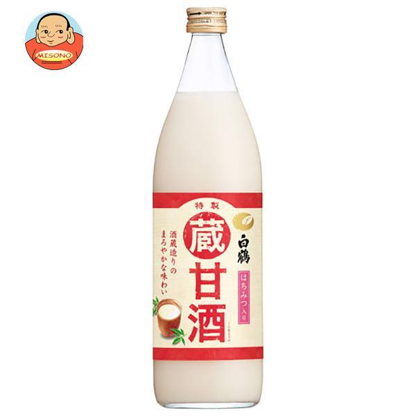 白鶴 蔵甘酒 940g瓶×6本入