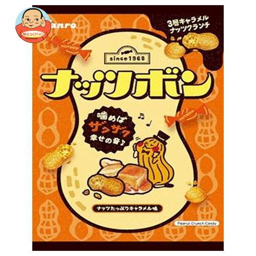 カンロ ナッツボン キャラメルナッツクランチ 81g×6袋入