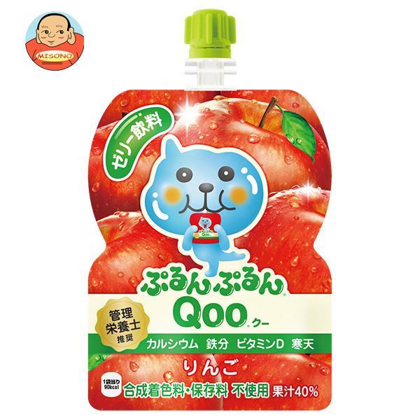 コカコーラ ミニッツメイド ぷるんぷるんQoo(クー) りんご 125gパウチ×6本入