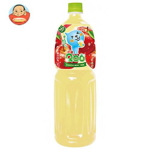 コカコーラ ミニッツメイド Qoo(クー) りんご 1.5Lペットボトル×6本入