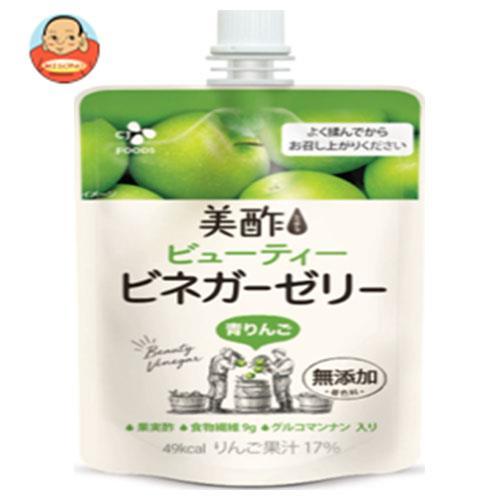 CJジャパン 美酢(ミチョ) ビューティー ビネガーゼリー 青りんご 130gパウチ×36本入