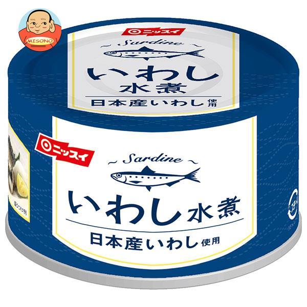 ニッスイ いわし水煮(日本産いわし使用) 175g缶×24個入