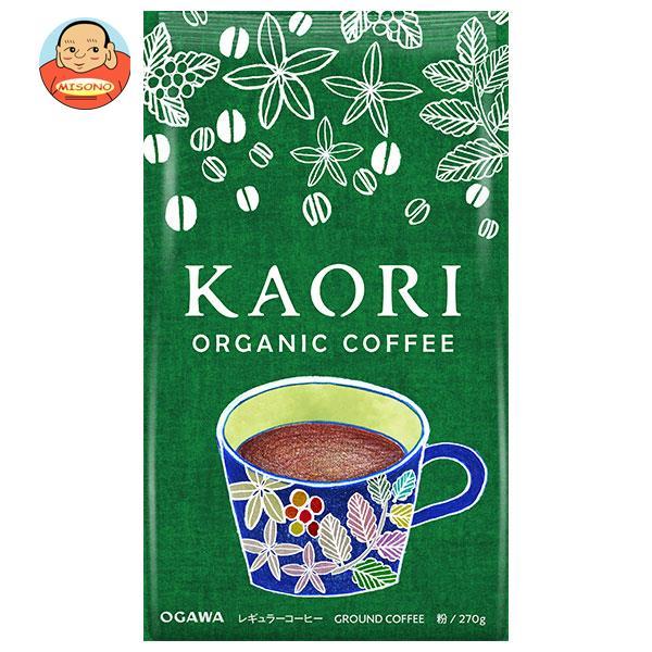 小川珈琲 KAORI(カオリ) ORGANIC COFFEE(オーガニックコーヒー)(粉) 300g×12袋入