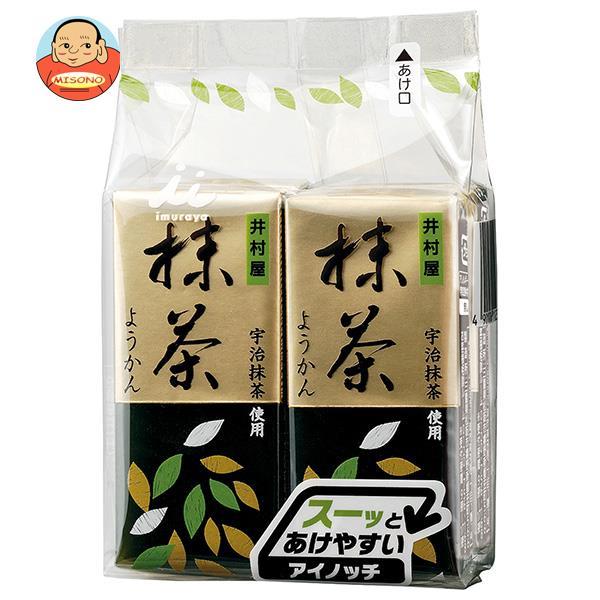 井村屋 ミニようかん 抹茶 (58g×4本)×12(6×2)袋入