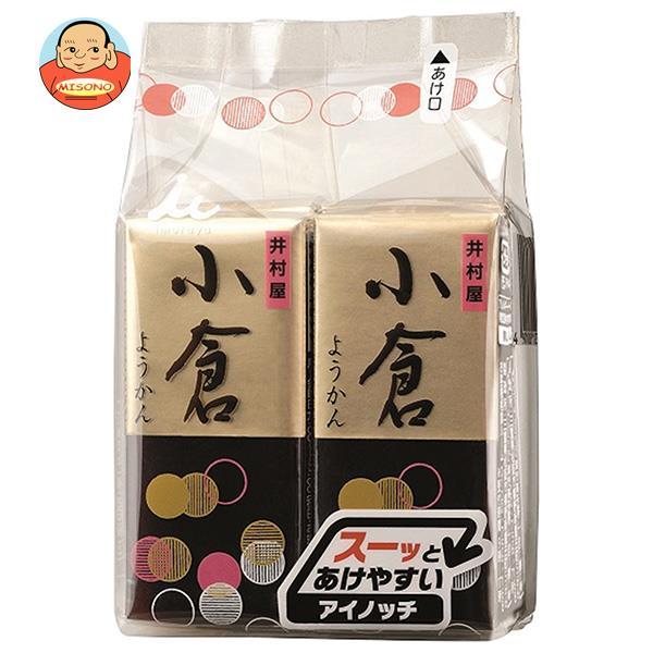 井村屋 ミニようかん 小倉 (58g×4本)×12(6×2)袋入