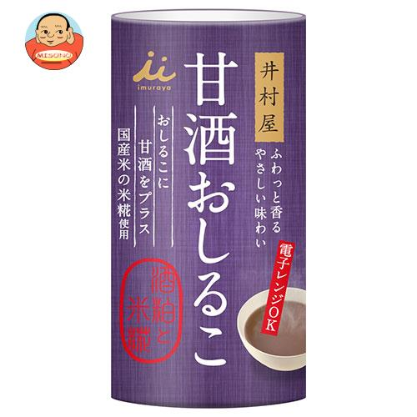井村屋 甘酒おしるこ 140g缶×18本入