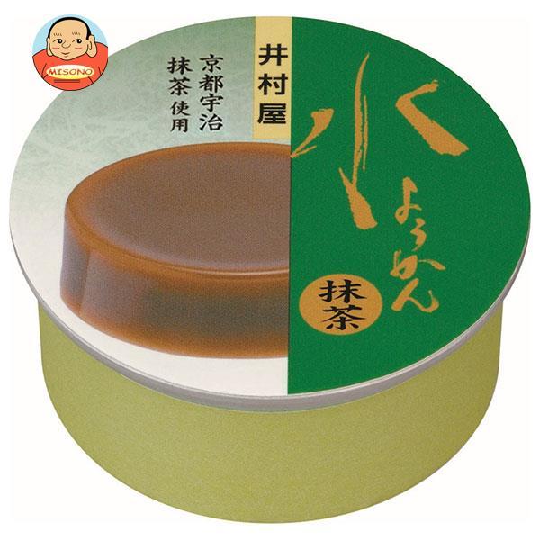 井村屋 缶水ようかん 抹茶 83g×32個入