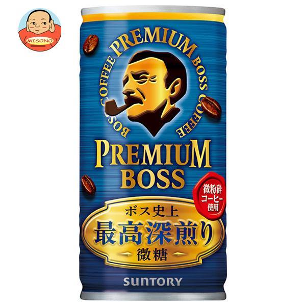 サントリー PREMIUM BOSS(プレミアムボス) 微糖 185g缶×30本入