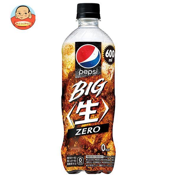 サントリー ペプシ ジャパンコーラ ゼロ【手売り用】 600mlペットボトル×24本入