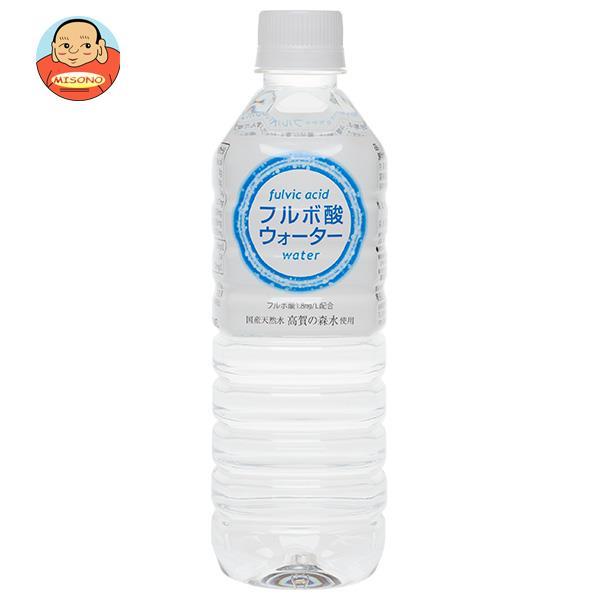 奥長良川名水 フルボ酸ウォーター 500mlペットボトル×24本入