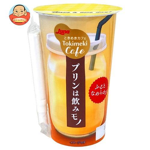 日本ルナ ときめきカフェ プリンは飲みモノ 180g×12本入