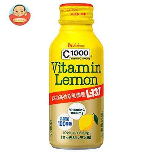 ハウスウェルネス C1000 ビタミンレモン 乳酸菌L-137 120mlボトル缶×30本入