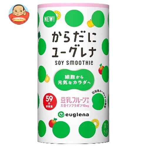 ユーグレナ からだにユーグレナ Soy Smoothie(ソイスムージー) 豆乳フルーツミックス 195gカートカン×15本入