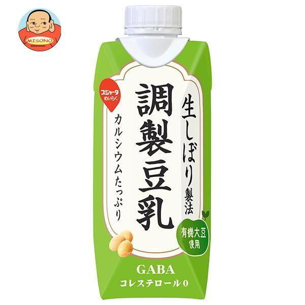 スジャータ おいしい調製豆乳(プリズマ容器) 330ml紙パック×12本入