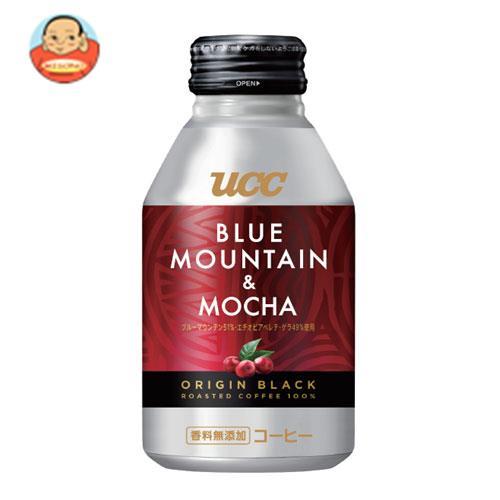 UCC ORIGIN BLACK(オリジンブラック) ブルーマウンテン&モカ 275gリキャップ缶×24本入