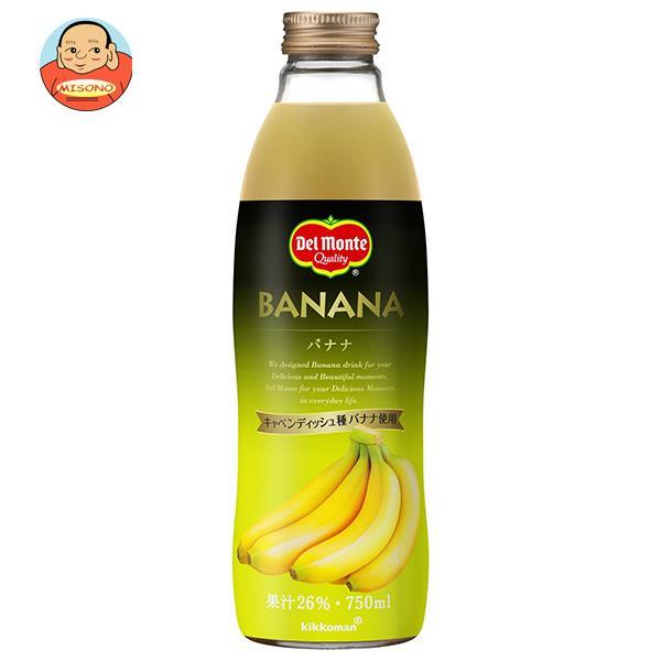 デルモンテ バナナ 750ml瓶×6本入