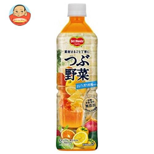 デルモンテ つぶ野菜 まるごと搾り柑橘mix 900gペットボトル×12本入