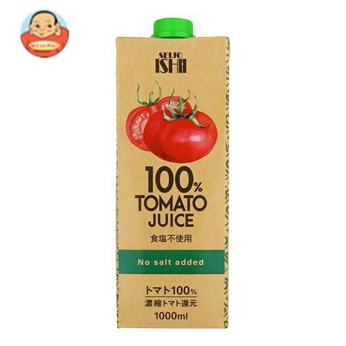 成城石井 トマトジュース 食塩不使用 (濃縮還元) 1000ml紙パック×12本入