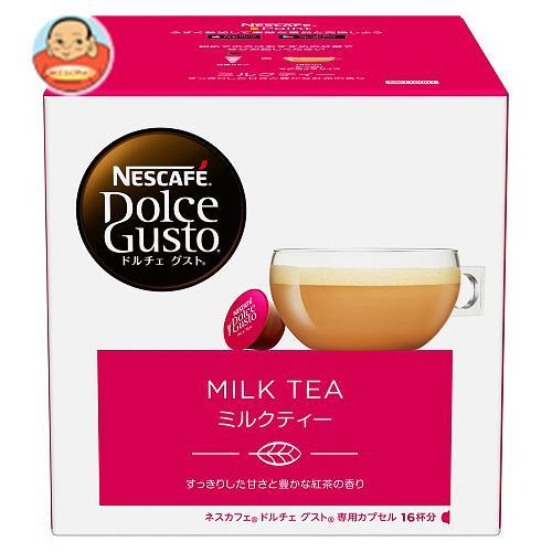 ネスレ日本 ネスカフェ ドルチェ グスト 専用カプセル ミルクティー 16個(16杯分)×3箱入
