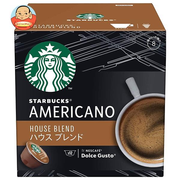 ネスレ日本 スターバックス ハウスブレンド ネスカフェ ドルチェ グスト 専用カプセル 12個(12杯分)×3箱入