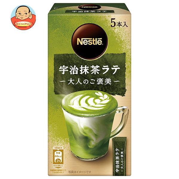 ネスレ日本 ネスレ 大人のご褒美 宇治抹茶ラテ (10.1g×6P)×24箱入