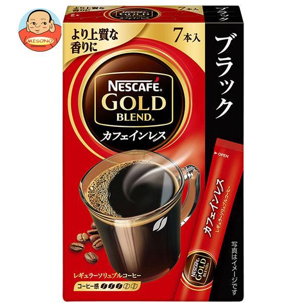 ネスレ日本 ネスカフェ ゴールドブレンド カフェインレス スティック ブラック (2g×7P)×24箱入