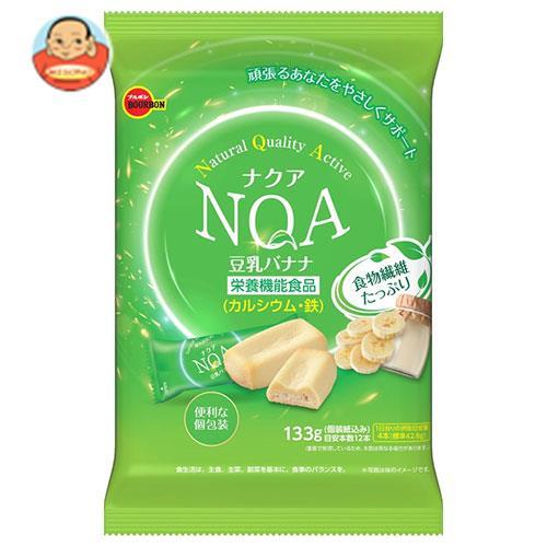 ブルボン ナクア 豆乳バナナ 133g×12袋入