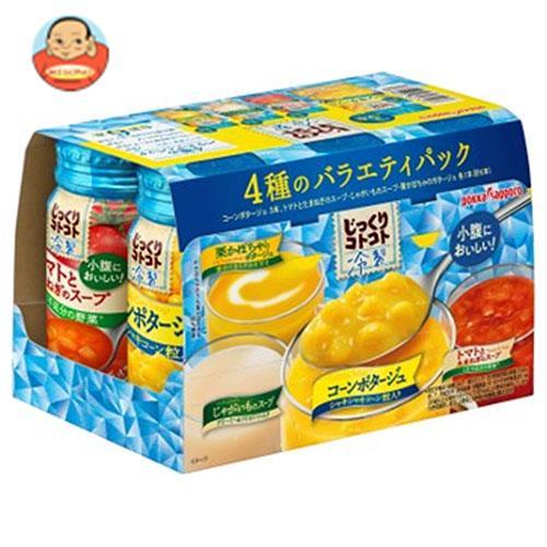 ポッカサッポロ じっくりコトコト 冷製 4種のバラエティパック 170gリシール缶×30(6×5)本入