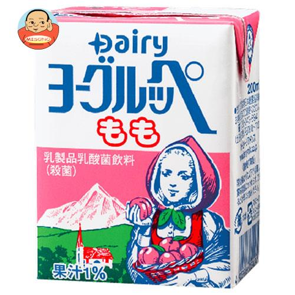南日本酪農協同 デーリィ ヨーグルッペ もも 200ml紙パック×24本入