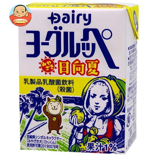 南日本酪農協同 デーリィ ヨーグルッペ みやざき日向夏 200ml紙パック×24本入