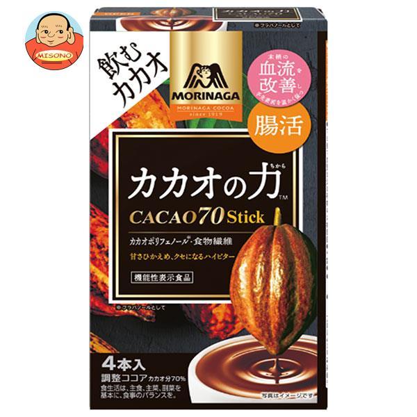 森永製菓 カカオの力 CACAO(カカオ)70 スティック 40g(10g×4本)×48箱入