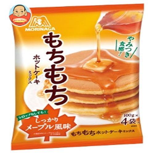 森永製菓 もちもちホットケーキミックス 400g(100g×4袋)×20袋入