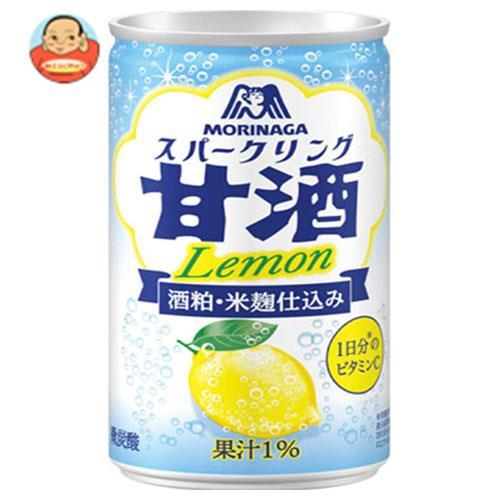 森永製菓 スパークリング甘酒 Lemon(レモン) 190g缶×30本入