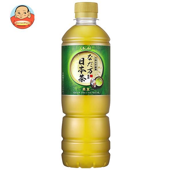 アサヒ飲料 なだ万監修 日本茶【自動販売機用】 500mlペットボトル×24本入