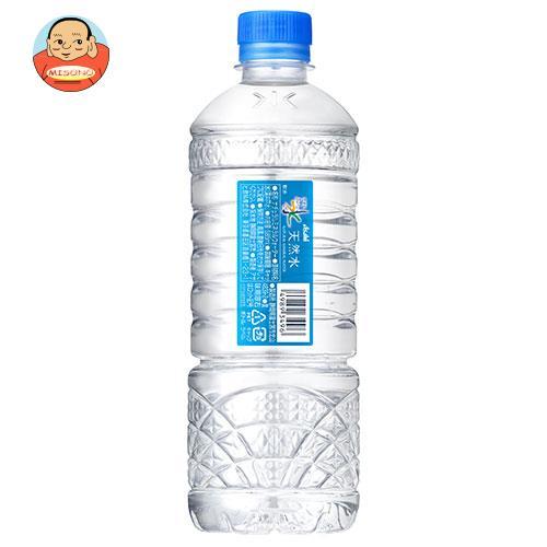 アサヒ飲料 おいしい水 天然水 シンプルecoラベル 585mlペットボトル×24本入