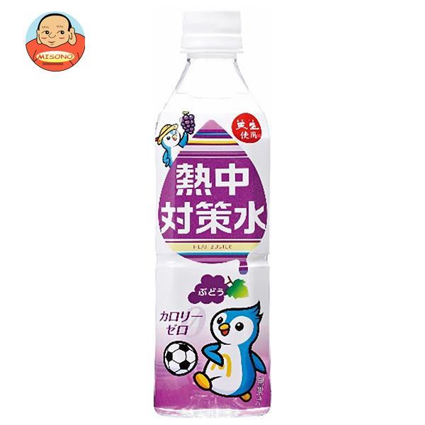 赤穂化成 熱中対策水 ぶどう味 500mlペットボトル×24本入