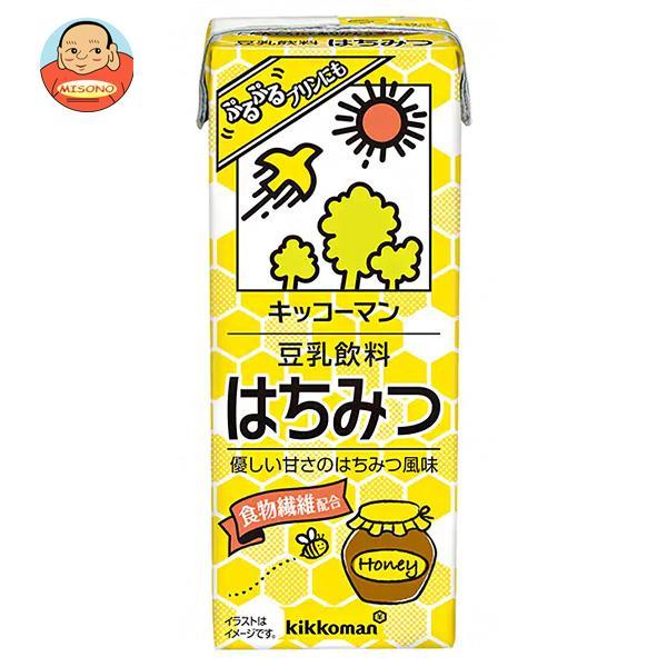 キッコーマン 豆乳飲料 はちみつ 200ml紙パック×18本入