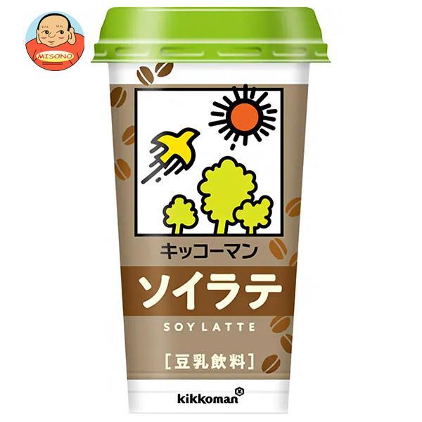 キッコーマン 豆乳飲料 ソイラテ 200ml×12本入