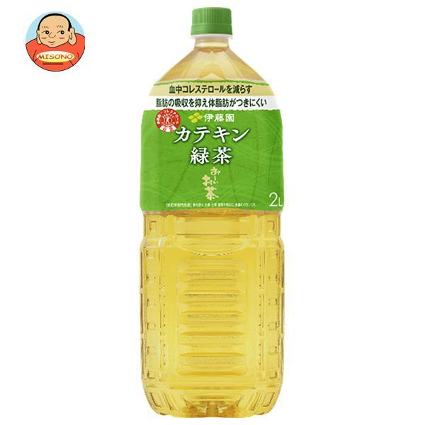 伊藤園 2つの働き カテキン緑茶【特定保健用食品 特保】 2Lペットボトル×6本入