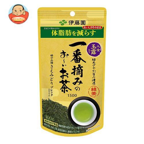 伊藤園 一番摘みのお~いお茶 1500 100g×3袋入