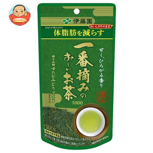 伊藤園 一番摘みのお~いお茶 1000 100g×5袋入