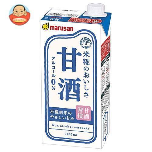 マルサンアイ 甘酒 1000ml紙パック×6本入